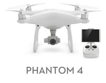 KIT DJI PHANTOM 4 Smart Drone + DJI Intelligent Flight Battery
